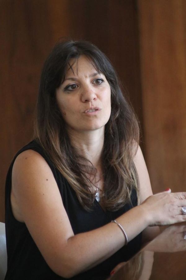 L'assessore alla Cultura Barbara Cerilli