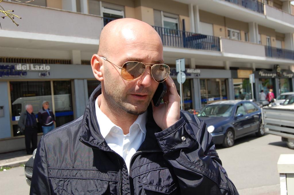 Il sindaco di Terracina Nicola Procaccini