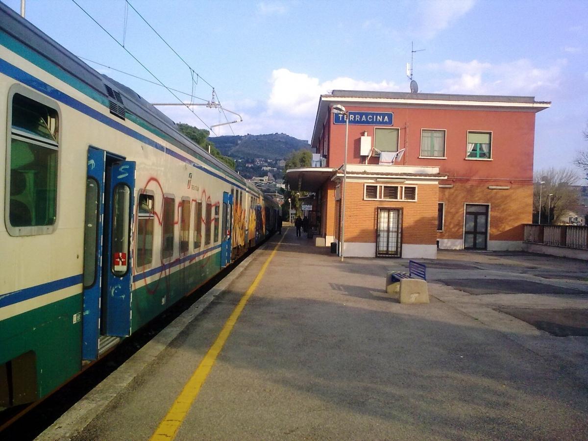 La stazione ferroviaria di Terracina