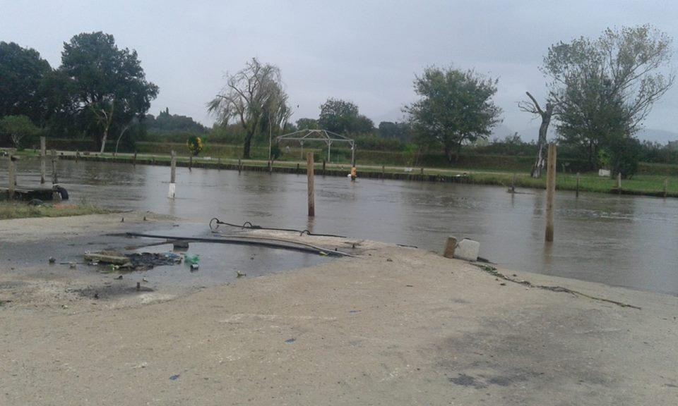 Foto d'archivio del fiume Sisto