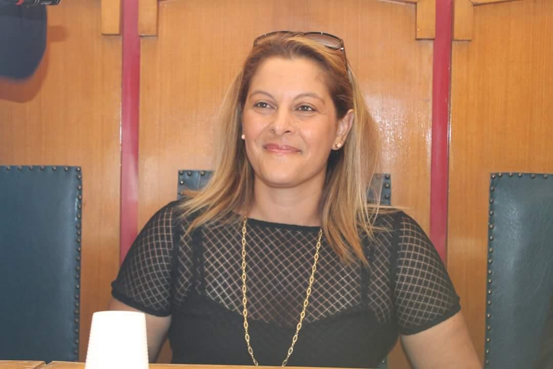 La consigliera comunale Valentina Berti