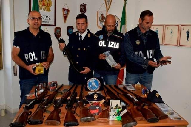 armi sequestrate
